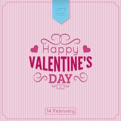 Saint Valentine's  Day background.