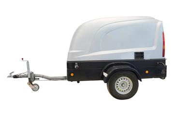 Autonomous high pressure washer
