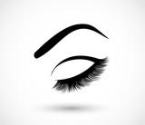Eyes, beauty, makeup icon vector