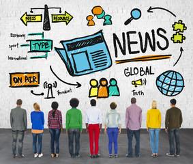 News Journalism Information Publication Update Media Advertismen