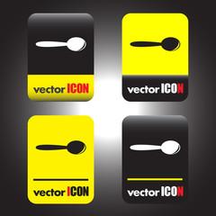 spoon vector icon
