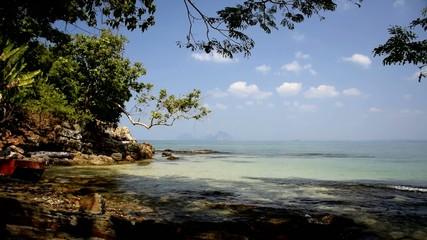 Koh Mook Island Wild Beach.