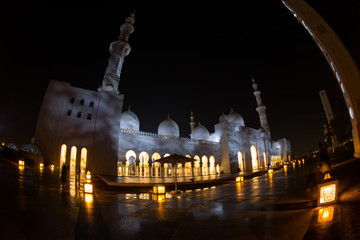detail of Sheikh Zayed Grand Mosque Abu Dhabi UAE