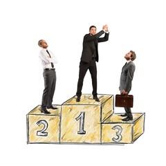 Success podium