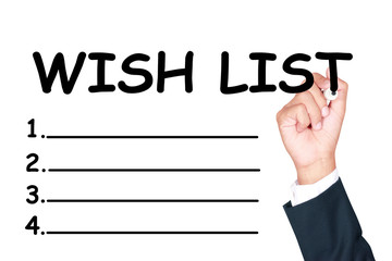 Write wish list
