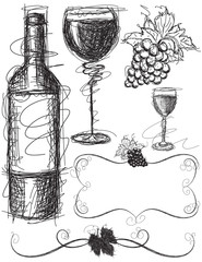 Wine Sketches