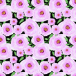 Abstract elegance seamless pattern flowers background