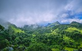 Morning Mist at Tropical Mountain Range - Fine Art prints