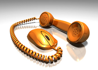 internet phone calls or VOIP, Voice over internet protocol.