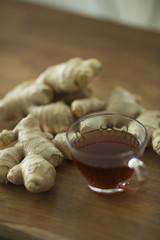紅茶と生姜