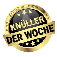 Button with banner Knüller der Woche