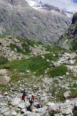 randonnée en montagne - oisans
