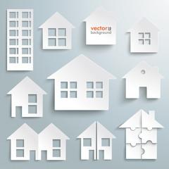 Paper Houses Set