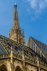 Tower of Stephansdom cathedral-Vienna,Austria