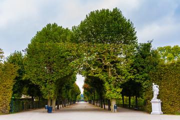 Schonbrunn royal castle park-Vienna, Austria