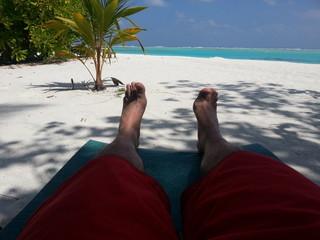 Entspann en am Strand