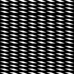 Black and white pattern illustration
