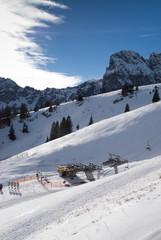 Schneelandschaft am Breitenberg bei Pfronten