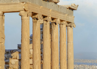 Columns in the classic style
