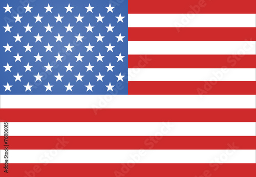 American Flag Vector illustration - 76886015