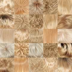 Multiple hair texture backgrounds