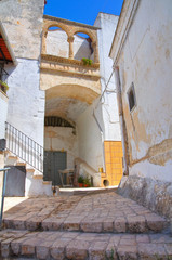 Historical palace. Laterza. Puglia. Italy.