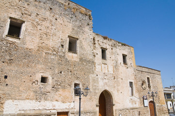 Castle of Laterza. Puglia. Italy.