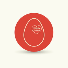Easter eggs icon.