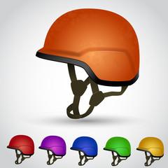 Set of sport helmet