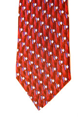 Red and Blue Tie