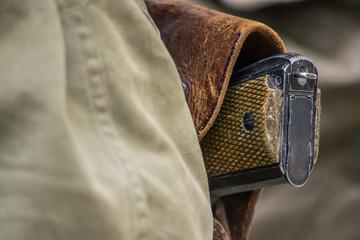 pistola di un soldato americano della seconda guerra mondiale