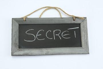 ardoise secret