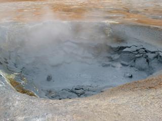 Hverir, icelandic geothermal area