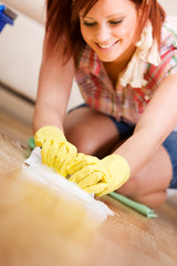 Cleaning: Scrubbing the Floors