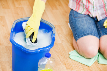 Cleaning: Getting More Soapy Water