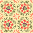 Abstract Floral background  vintage