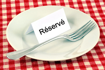 Réservation restaurant