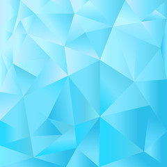 Blue vector background, broken texture