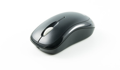 computer wireless mouse isolated