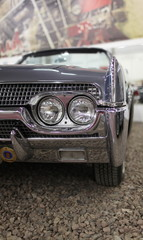 American retro car fragment