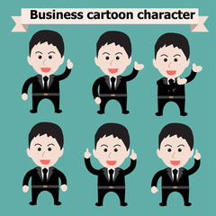 Character businessman