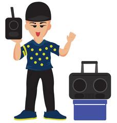hiphop boy