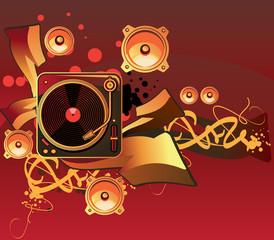 Music art design