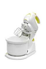 food processor on the white background