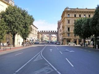 Verona mit Portal