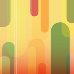 Abstract vector retro illustration