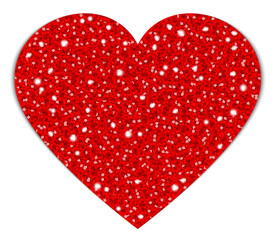 Red Heart Sparkling