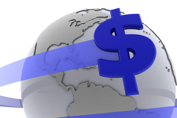 The Dollar around the globe