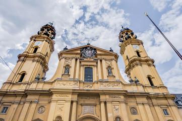The Theatinerkirche St. Kajetan in Munich, Germany