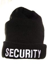 security beenie hat